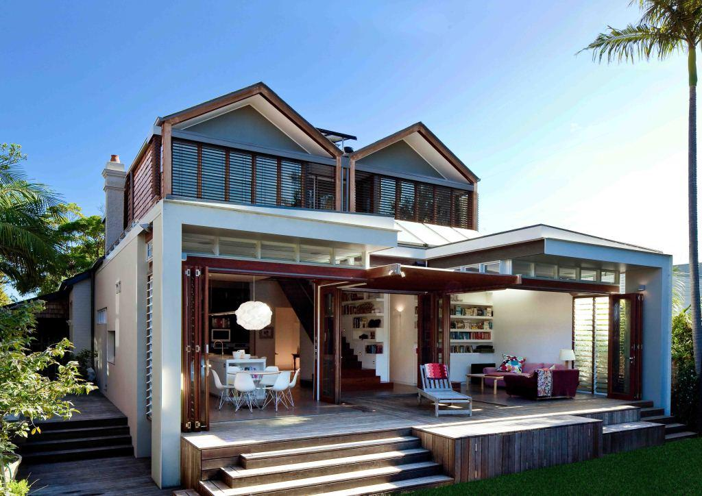 Extension using Passive Solar Techniques, Australia