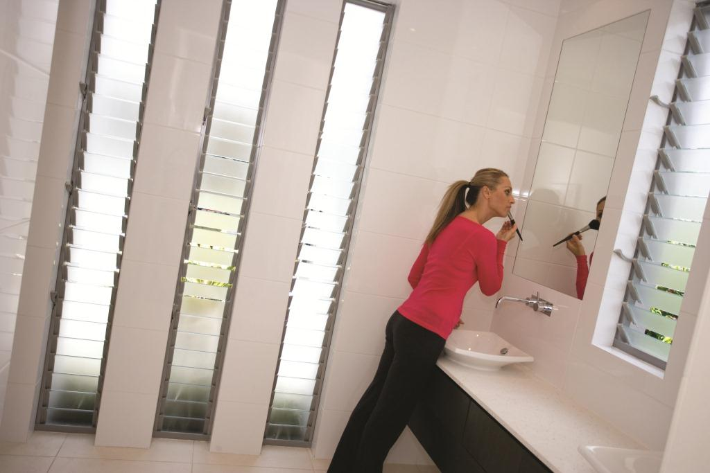 Breezway Altair Louvre Windows In Bathrooms And Laundries