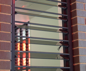 Breezway Altair Louvre Security Bars