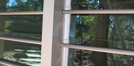 <strong>Security Bars</strong><br>Security bars are available to fit 152mm (6inch) blade heights. They can be set into some window frames and do not impede the operation of the window.