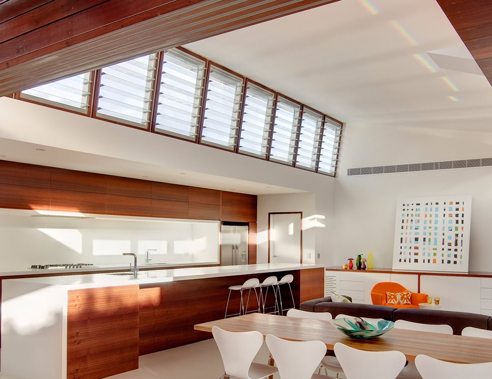 Breezway Louvres in the Kitchens