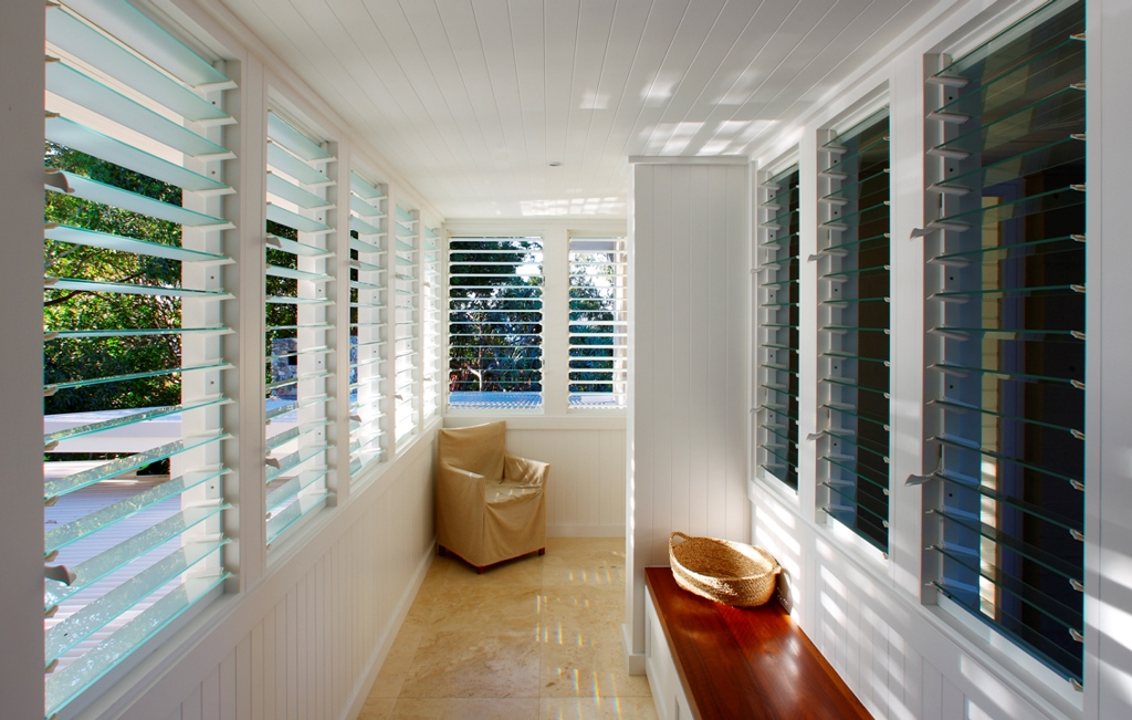 Breezway Louvres in outdoor rooms allow you to extend your outdoor living time