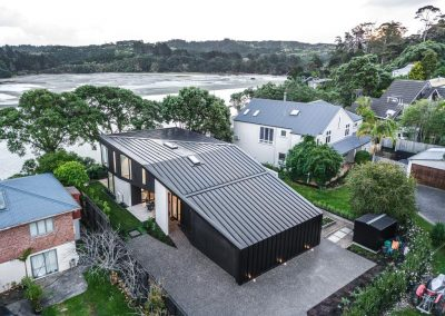 Birds eye view of Arkles Bay residence with Breezway Louvres. Credit Andy Chui